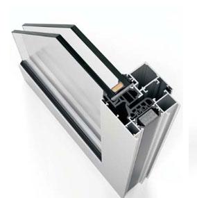 Sistema Cor70 Hoja oculta aluminio